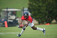 Ole Miss' Trey Bledsoe at football practice in Oxford, Miss. on Saturday, August 3, 2013.