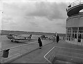 1956 - Interior views at Dublin Airport