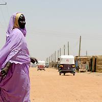 Haj Youssef, Sudan 14 April 2010<br /> Street scene.<br /> Photo: Ezequiel Scagnetti