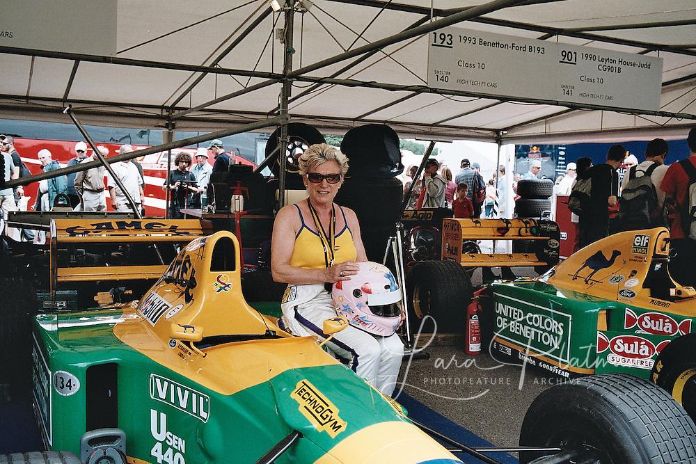 Lorina Mclaughlin at Goodwood Festival of Speed
