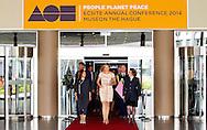 DEN HAAG  - Koningin Máxima opent donderdagochtend 22 mei het ECSITE-congres voor cultuur-en wetenschapscommunicatie in het World Forum in Den Haag. Het Museon organiseert de 25e editie van het jaarlijkse internationale congres van 22 tot en met 24 mei.COPYRIGHT ROBIN UTRECHT