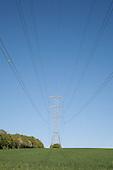 Pylons / overhead power lines / Utility poles UK
