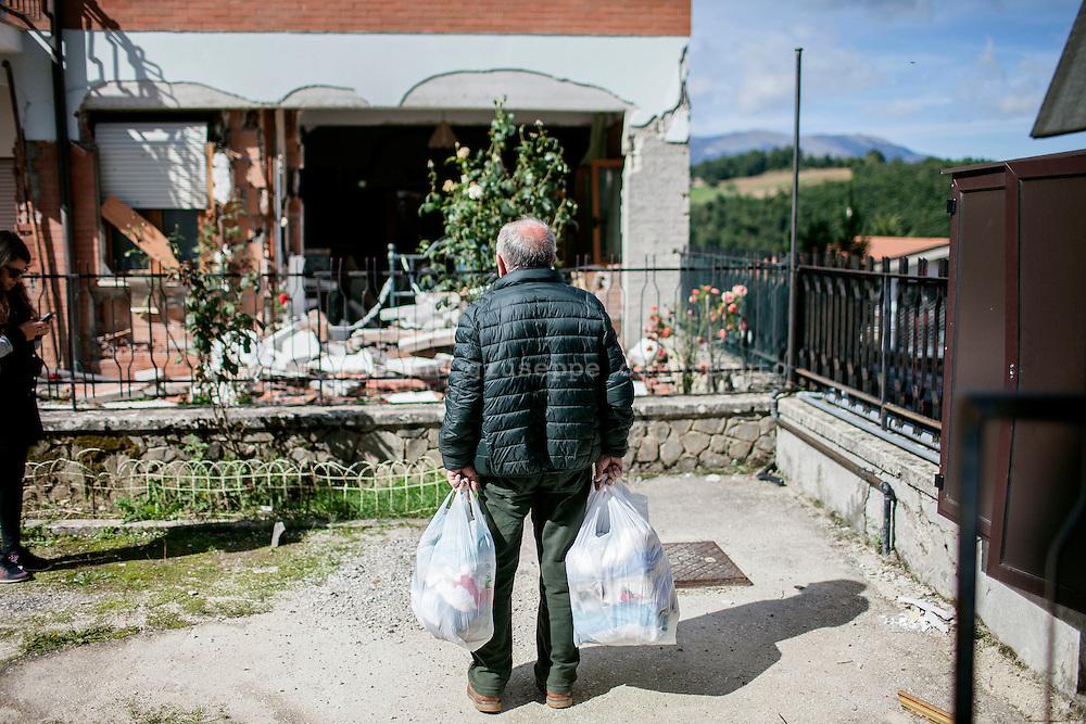 23 September 2016, Amatrice Italy -