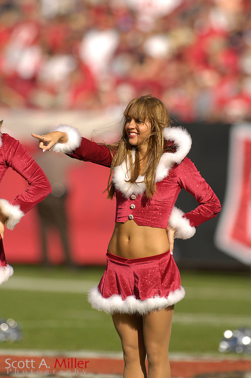 Dec. 23, 2007; Tampa, FL, USA; Tampa Bay Buccaneers cheerleaders during the Bucs game against the Atlanta Falcons at Raymond James Stadium....©2007 Scott A. Miller