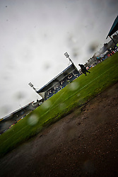 The North Stand and the Main Stand of Stark's Park, home to Raith Rovers FC since 1891..Raith Rovers 1 v 0 Falkirk, 6th August 2011..©Pic : Michael Schofield.
