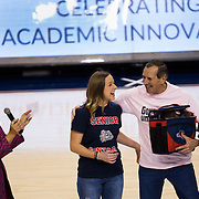 Gonzaga Day at the McCarthey Athletic Center, Feb. 13. (Photo by Libby Kamrowski)