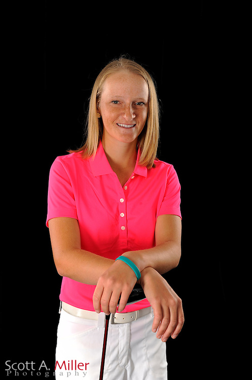 Aimee Neff during a portrait shoot prior to the Symetra Tour's Florida's Natural Charity Classic at the Lake Region Yacht and Country Club on March 20, 2012 in Winter Haven, Fla. ..©2012 Scott A. Miller.