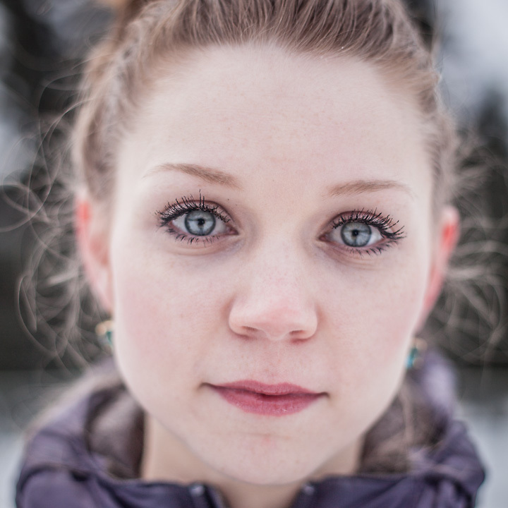 UAA International Studies student Isabella Maier at Valley of the Moon Park, Anchorage  m81_@hotmail.com