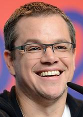 FEB 08 2013 Matt Damon