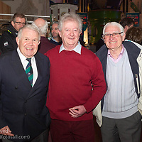 (l to r) David Lovegrove (President, Irish Sailing Association), Flor O'Driscoll, and Brendan Dalton attending the official launch of Volvo Dún Laoghaire Regatta 2017 in the National Maritime Museum of Ireland on Wednesday evening. The Regatta will be among the biggest mass-participatory sporting event in Ireland this year (eclipsed for numbers only by the city marathons).