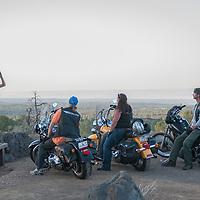 USA, Arizona, Sunset Crater, RAW, Harley, biker, people,