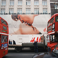Kiss on Oxford Street....