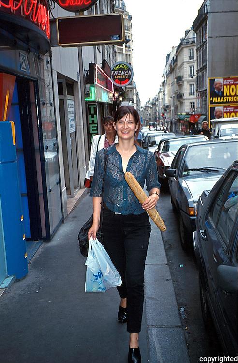 Hege Julie Skarland, klesdesigner, Paris.dias Julie Skarland, Paris.
