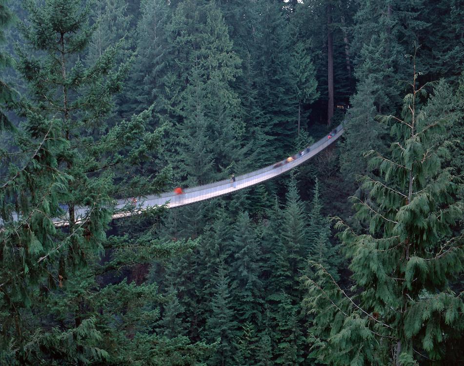 Capilano Suspension Bridge, Vancouver , British Columbia, Canada