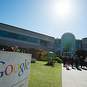 Visiting Google as part of the San Francisco Trek 2014. (Photo by Gonzaga University)