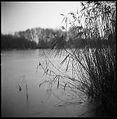 Frozen Lake, Wivenhoe, Essex 2009