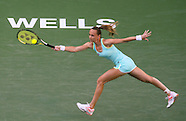 Tennis: BNP Paribas Open 2016 Victoria Azarenka vs Magdalena Rybarikova