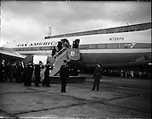 1961 - Security Officer Mr. F. Eiver's body arrives at Dublin Airport.  B950.