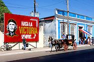 Image of Ernesto Che Guevara in Cardenas, Matanzas, Cuba.