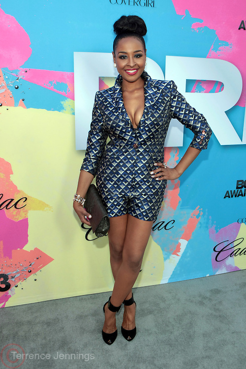 "Los Angeles, CA-June 29: On-Personality/Producer Janelle Snowden attends the Seventh Annual "" Pre "" Dinner celebrating BET Awards hosted by BET Network/CEO Debra L. Lee held at Miulk Studios on June 29, 2013 in Los Angeles, CA. © Terrence Jennings"