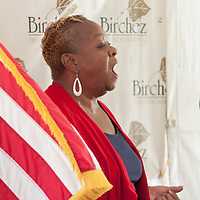Kingston, New York - Scenes and speakers from the Birchwood Village Community Watch Barbecue on Saturday, July 12, 2014.