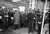 1963-03/09 De Valera Lays Abbey Foundation Stone