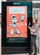 Clear Channel advertising Edinburgh
