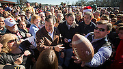 BLOOMINGDALE, GA - DECEMBER 19, 2015: Senator Ted Cruz greets supporters during a campaign stop at Ottawa Farms in Bloomingdale, Ga., during a seven-day, 12-city tour. CREDIT: Stephen Morton for The New York Times