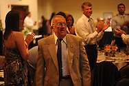 """Wil St. Amand was named """"Citizen of the Year"""" during the Chamber of Commerce's annual banquet at the Oxford Conference Center in Oxford, Miss. on Thursday, June 6, 2013. Fred Laurenzo was also named co-citizen of the year."""