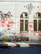 Street graffiti, Mitte, East Berlin