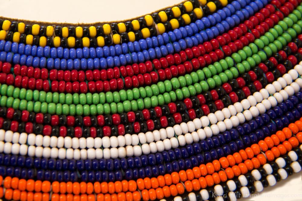 Africa, Kenya. Maasai Tribal Beads.