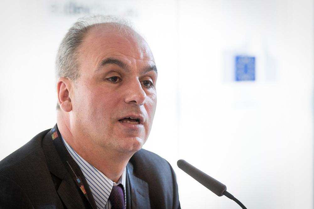 03 June 2015 - Belgium - Brussels - European Development Days - EDD - Growth - Ideas to impact-Innovation prizes for development - Gaspar Frontini , <br /> Head of unit at European Commission &copy; European Union