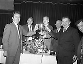 1962 - Jacob's Presentation of trophy