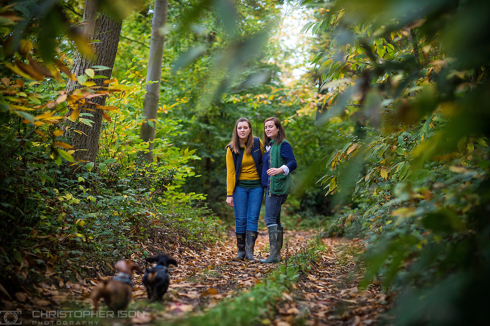 Rhiannon and Philippa's engagement shoot, Stansted Park, West Sussex.<br /> Picture date: Monday October 26, 2015.<br /> Photograph by Christopher Ison &copy;<br /> Contact: 07791125408 <br /> helen@itmustbeloveweddings.com<br /> www.itmustbeloveweddings.com<br /> or alternatively<br /> 07544044177<br /> chris@christopherison.com<br /> www.christopherison.com
