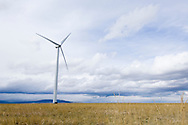Judith Gap Wind Farm a private enterprize business south of Judith Gap, Montana
