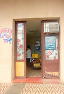 Barber shop in Moron, Ciego de Avila, Cuba.