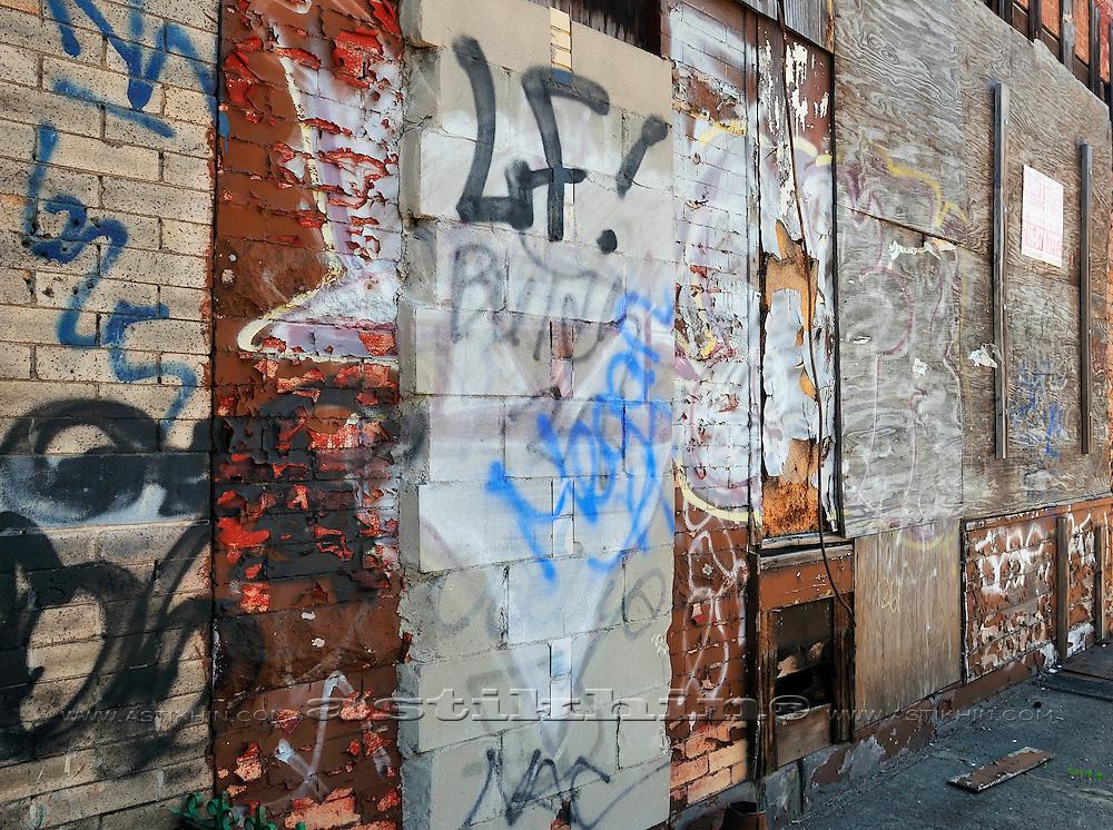 Wall in Brooklyn
