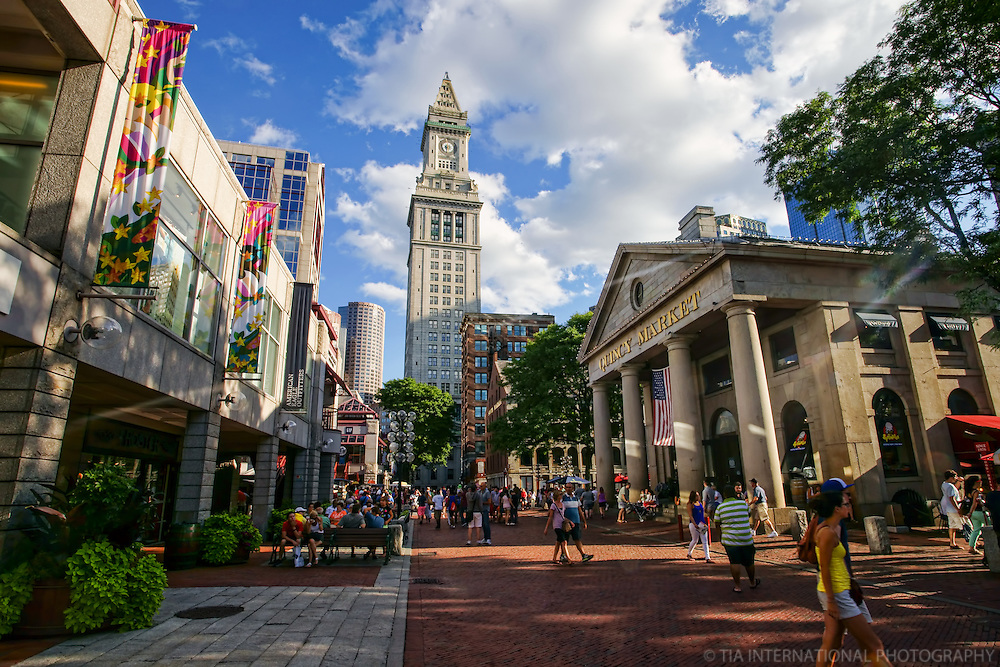 Quincy Market & Custom House
