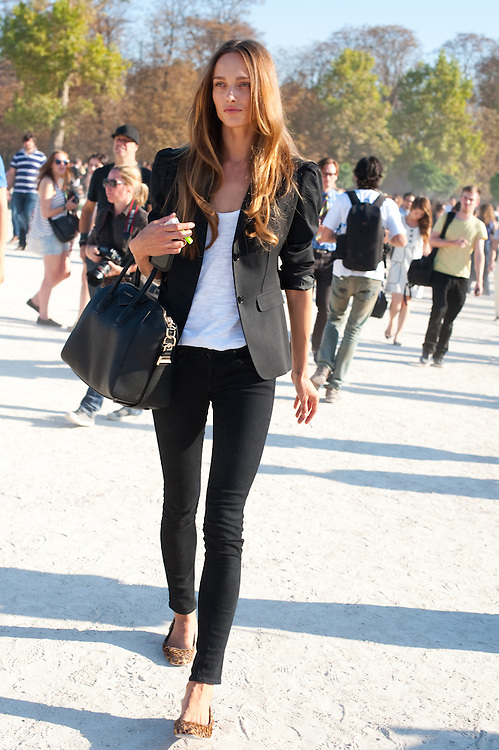 Karmen Pedaru in Black and White, Outside Chloe | Marcy Swingle ...