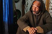 Berber man inside a shop