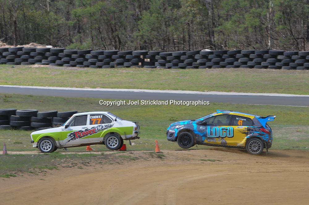 Rallycross Australia - Rnd 1 - February 26th 2017. MARULAN DIRT & TAR CIRCUITS, MARULAN, NSW