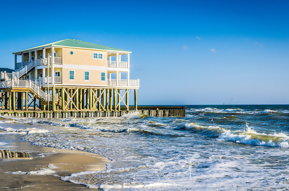 beach house and waves on dauphin island alabama  carmen k. sisson, beach house for rent dauphin island alabama, beach house rentals dauphin island alabama, pet friendly beach house rentals in dauphin island al