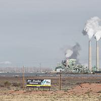 Cholla Power Plant, Coal Fired, near Holbrook,Arizona,USA<br /> RAW America