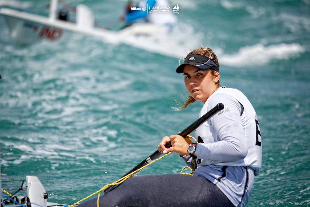 BrazilLaser RadialWomenHelmBRAMK12Maria CarolinaKnudsen Boabaid<br />Day3, 2015 Youth Sailing World Championships,<br />Langkawi, Malaysia