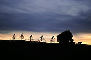 Mountain Biking, Slickrock Trail, Moab, Utah, MODEL RELEASED