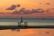 Pool at Hermitage Bay Resort, Antigua, Caribbean Island