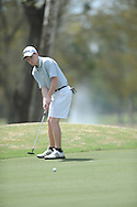 Oxford High golfer Ward Toler putts during the MHSAA District 2-5A golf tournament at the Ole Miss Golf Course in Oxford, Miss. on Monday, April 15, 2013.