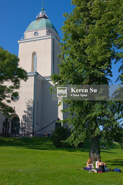 Suomenlinna Church (Unesco World Heritage site), Helsinki, Finland