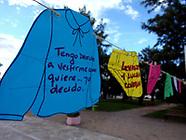 Movilización en Montes por el día de la Mujer
