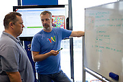 Lars Rasmussen and brother Jens who have created Google Wave, in their Sydney office.